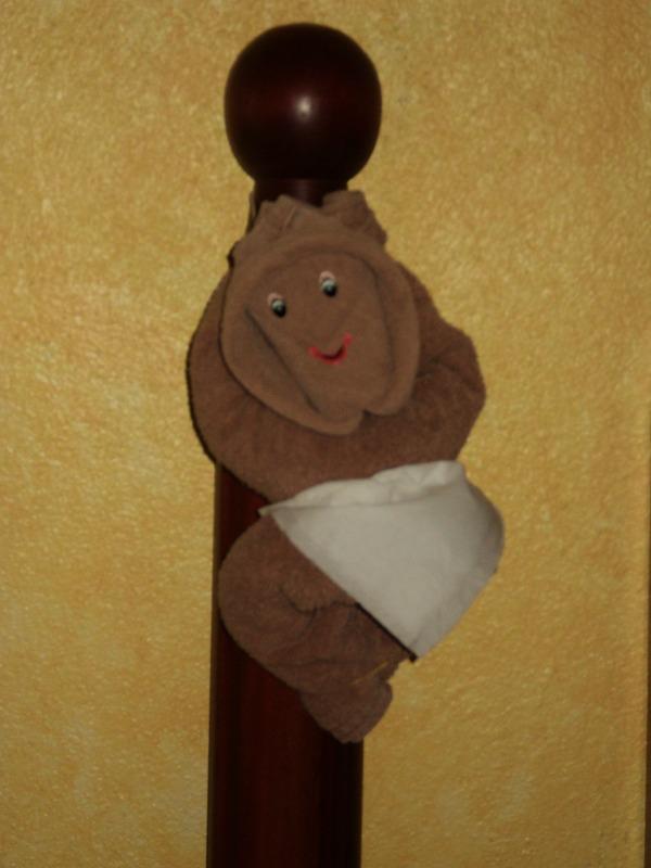 Riu Jalisco Towel Monkey