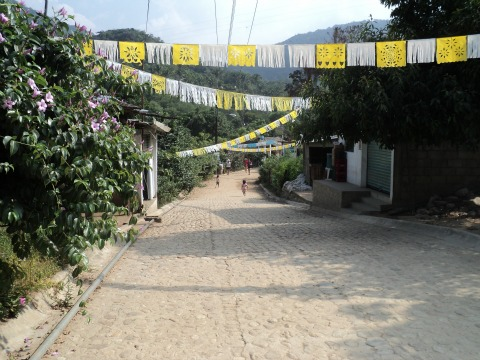 The Only Road in Quimixto