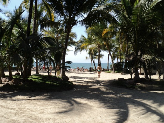 A Beach in Riu Resorts Puerto Vallarta