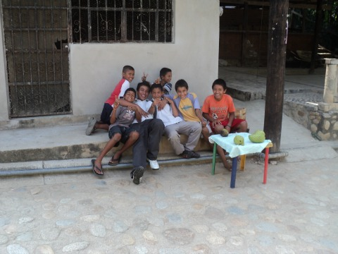 Children in Quimixto