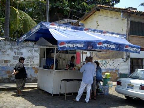 Puerto Vallarta Taco Lady
