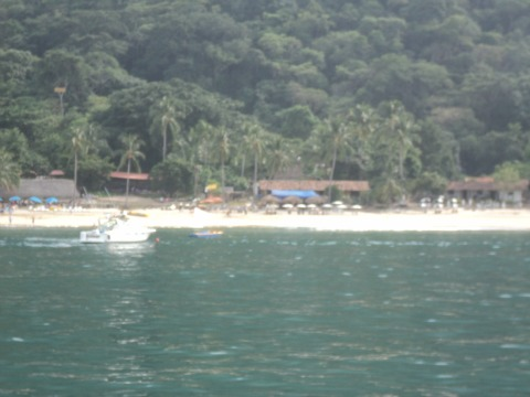 Playa Las Animas - A secluded beach in Puerto Vallarta